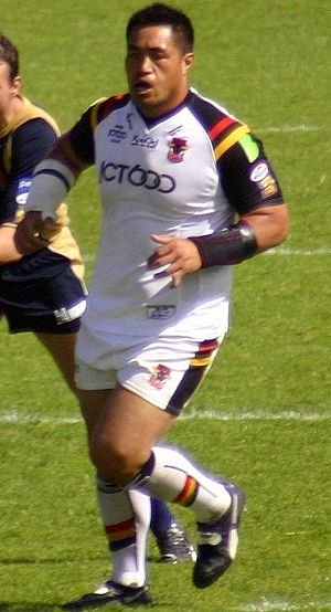 Joe Vagana - Vagana playing for Bradford in 2008