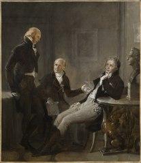 Johan Fredrik Aminoff, Johan Albrekt Ehrenström and Gustaf Mauritz Armfelt