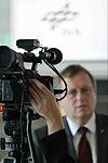 Johann-Dietrich Wörner, DLR Chairman, during the interview (7635809088).jpg