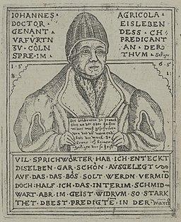 Johann Agricola by Jenichen 1565