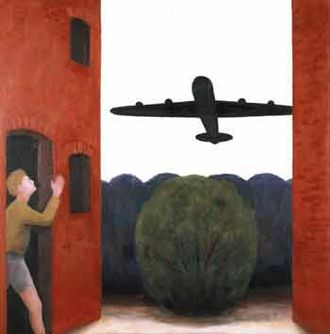 John Bourne (artist) - John Bourne. Aeroplane