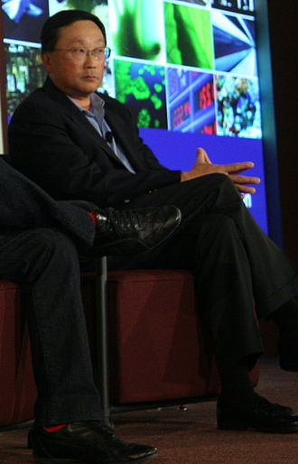 Brown University School of Engineering - Image: John Chen at Techonomy 2010