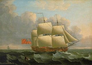 HMY <i>Royal Caroline</i> (1750)