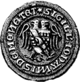 John Menteith, seal circa 1297.png