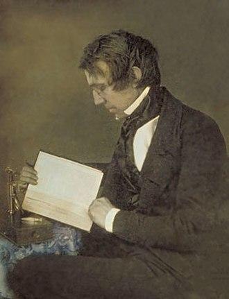 John Torrey - Daguerreotype of John Torrey, 1840