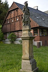 Socha svatého Jana Křtitele