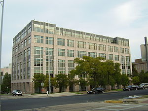Sunset Advisory Commission - The Robert E. Johnson State Office Building houses the Sunset Advisory Commission