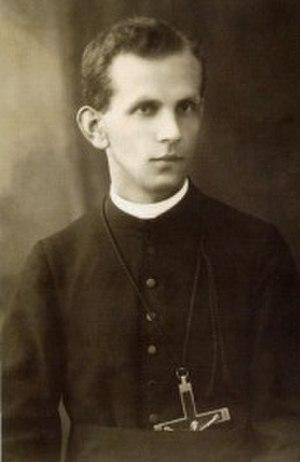 Józef Cebula - Image: Josef Cebula priest
