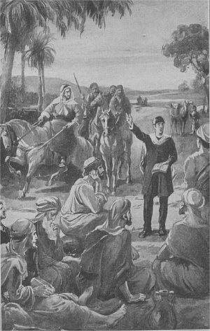 Joseph Wolff - Joseph Wolff preaching in Palestine