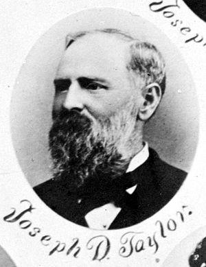 Joseph D. Taylor - Image: Joseph Danner Taylor