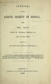 Journal of the Asiatic Society of Bengal Vol 44, Part 2.djvu