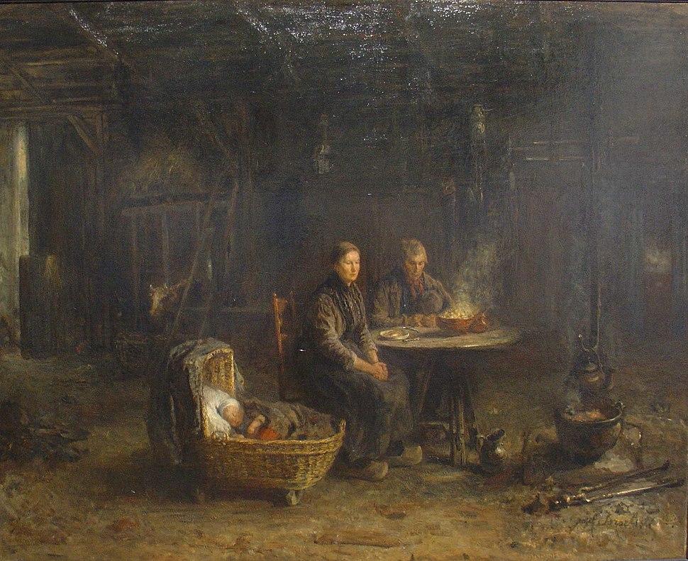 Jozef Israels Boerenmaaltijd in Delden