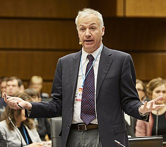 Julian Borger - Julian Borger at a CTBTO discussion in 2016