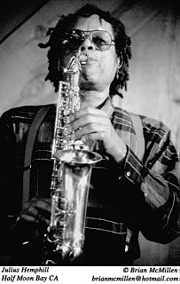 Julius Hemphill American jazz composer and saxophone player