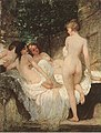 Károly Lotz (1833-1904) After the Bath 1880.jpg