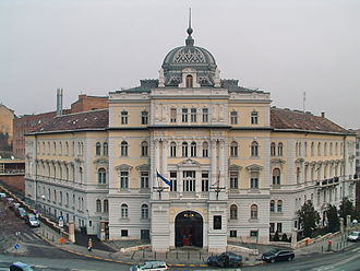Hungarian Central Statistical Office - The Central Statistical Office main building in Keleti Károly Street, Budapest