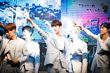 KNK performing at KBS Cool FM in July 2016.jpg