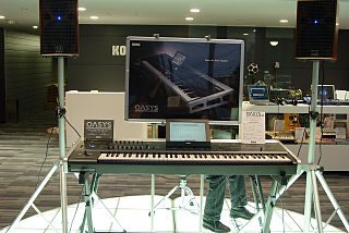 Korg OASYS Workstation synthesizer