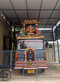 Kaanipakam Temple Publicity vehicle, Chittor district.JPG