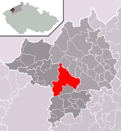 Location of Kadaň