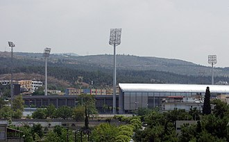 Kaftanzoglio Stadium - Exterior view