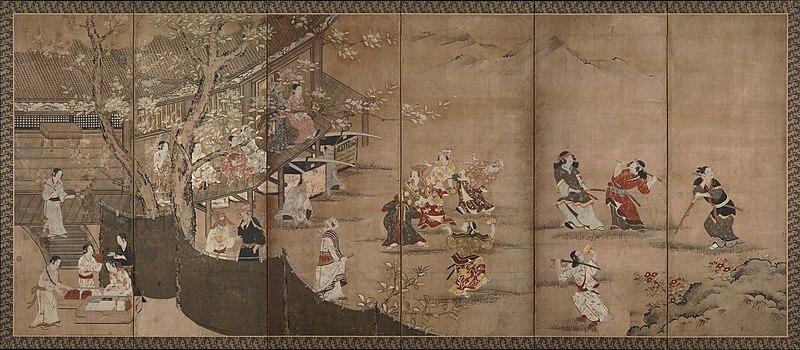 http://upload.wikimedia.org/wikipedia/commons/thumb/5/55/Kano_Naganobu_-_Merrymaking_Under_the_Cherry_Blossoms_-_Google_Art_Project.jpg/800px-Kano_Naganobu_-_Merrymaking_Under_the_Cherry_Blossoms_-_Google_Art_Project.jpg