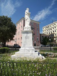 Kapodistrias In Front of Ionian Academy