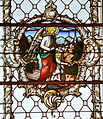 Kappel Pfarrkirche Chorfenster links Schutzengel.jpg