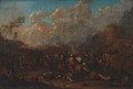 Karel Breydel - Cavalry Skirmish at a Fortress - KMS647 - Statens Museum for Kunst.jpg