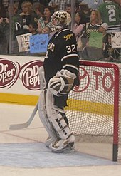 9d8823c50 Kari Lehtonen during the 2010–11 season. He was named the team s number one  goaltender after they let go of longtime goaltender Marty Turco.