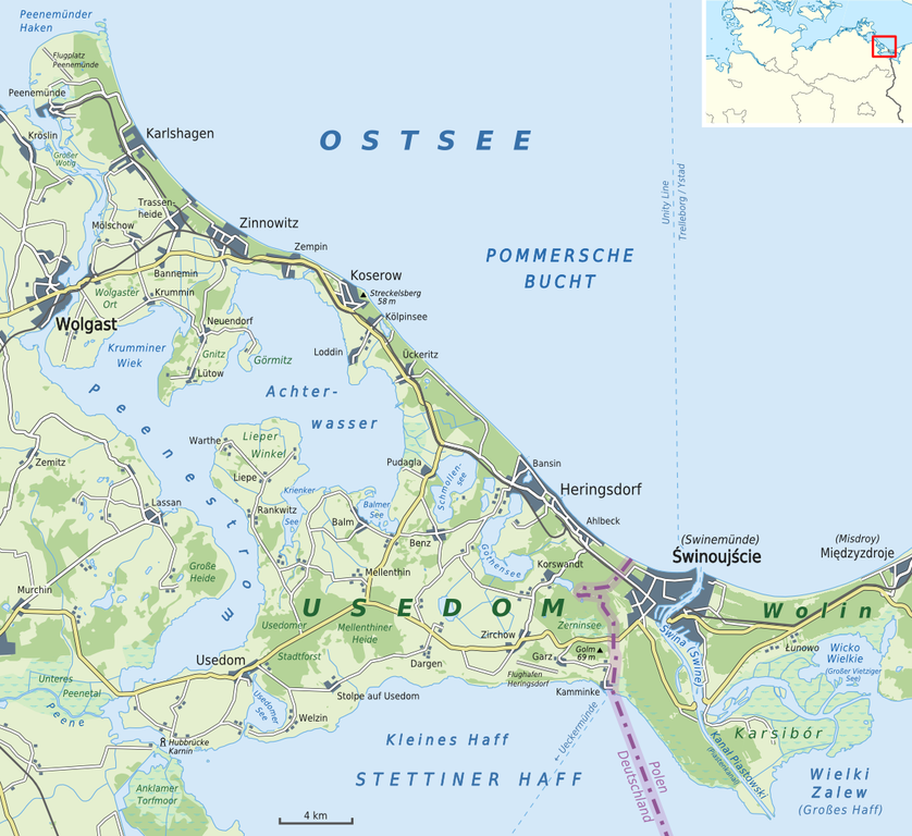 Insel Usedom Karte.Datei Karte Insel Usedom Png Wikipedia