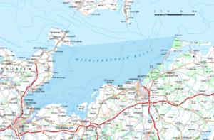 Bay of Mecklenburg - Map of the Bay of Mecklenburg
