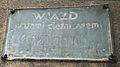 Karwowskiego Poznan old plaque.JPG