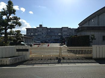 Kasugai City Ajiyoshi Junior High School 20131212.JPG