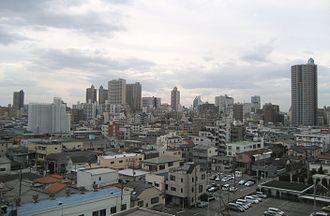 Kawaguchi, Saitama - View of downtown Kawaguchi