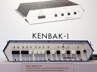 Kenbak-1 - A Kenbak-1 at the Computer History Museum