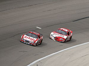 My Bariatric Solutions 300 - Matt Kenseth passes Denny Hamlin to win the 2007 event