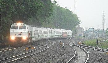 Argo Bromo Anggrek langsung Stasiun Tegal