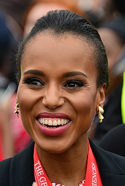 Kerry Washington, Deliver Commencement Address GWU (8755052944) (cropped) (cropped).jpg