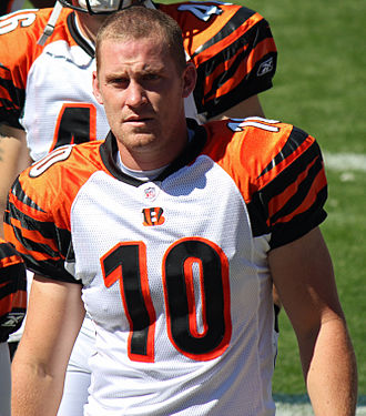 Kevin Huber - Huber with the Cincinnati Bengals in 2011
