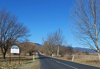 Khancoban Town in New South Wales, Australia