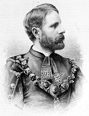 Károly Khuen-Héderváry - Khuen-Héderváry in 1894