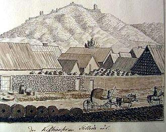 Tilleda - Tilleda / Kyffhäuser, ca. 1820