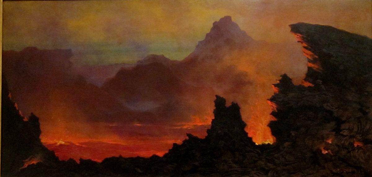 Kilauea Caldera, Sandwich Islands - Wikidata