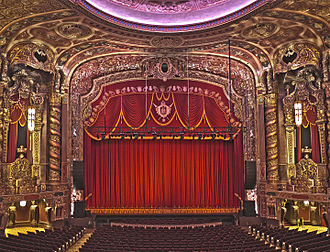 Kings Theatre (Brooklyn) - The renovated interior