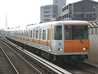 Kintetsu 7020 series Japanese train type