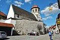 Kirche in Oberriexingen von der Gaststätte Adler aus gesehen - panoramio.jpg