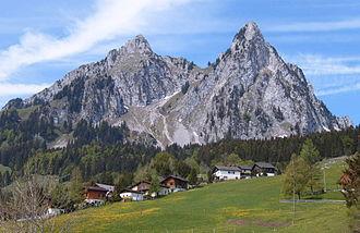 Alpthal - Image: Kleiner Mythen