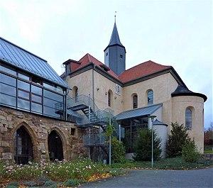 Volkenroda Abbey - Abbey church at Volkenroda (2013)