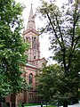 Kościół ewangelicki, ob. rzym.-kat. par. pw. Świętych Piotra i Pawła, 1872-1876 (34).JPG